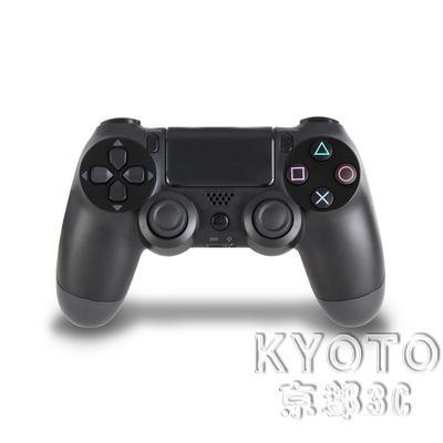 手柄 全新PS4無線游戲手柄PRO藍牙有線USB搖桿震動游戲PC電腦手柄steam 京都3CYJT