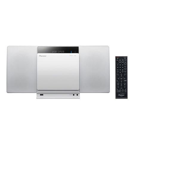 【Pioneer先鋒】藍牙薄型多媒體撥放音響系統/X-SMC01BT-W *六期零利率*