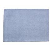 HOLA 素色織紋餐墊33x45cm 靛藍色