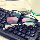 防輻射眼鏡男防藍光無度數平面鏡女手機電腦護目網紅復古眼鏡架潮『潮流世家』
