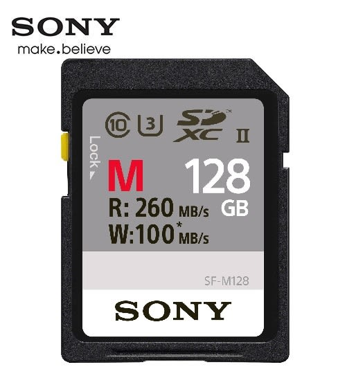 [富廉網] 【SONY】SDXC UHS-II C10 M 128G 讀260MB/s 寫 100MB/s M系列記憶卡 (SF-M128)