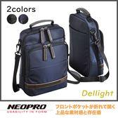 現貨配送【NEOPRO】日本機能包品牌 A5 直立斜背包 側背包 多口袋夾層 休閒商務包【2-785】