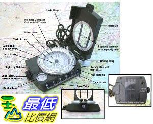 [美國直購ShopUSA] SE Military (Prismatic) Lansatic Compass, 2-1/8 Dia. Face $824