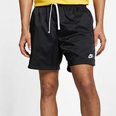 NIKE NSW SPE WVN SHORT FLOW 男款 黑色 運動 短褲 AR2383010