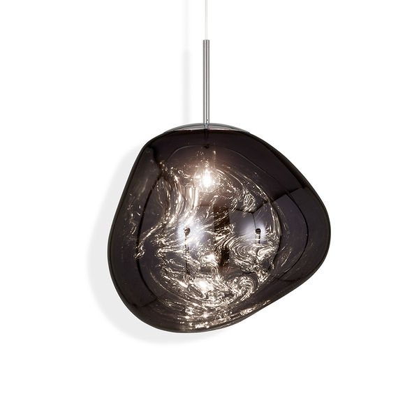 英國 Tom Dixon Melt Standard Suspension Lamp in Smoke 50cm 熔岩 前衛 吊燈 標準版 - 煙熏色款