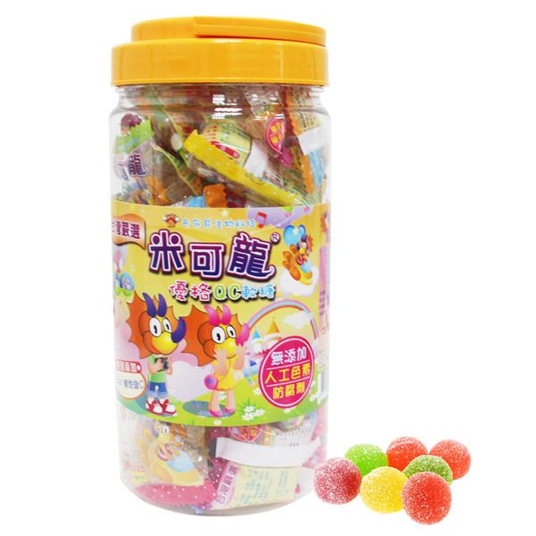 【醫康生活家】米可龍優格QC軟糖 100g/大罐