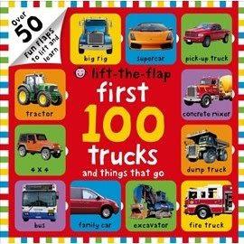 FIRST 100 TRUCKS /LIFT-THE-FLAP 《幼兒數數操作書》主題: 交通工具