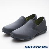 【SKECHERS 促銷6折】SKECHERS(男) GO Flex 健走系列 藍灰 - 54010CCNV