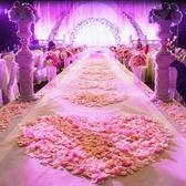 婚慶佈置道具仿真玫瑰花瓣結婚手拋撒花KTV酒店T臺生日表白求婚 極客玩家