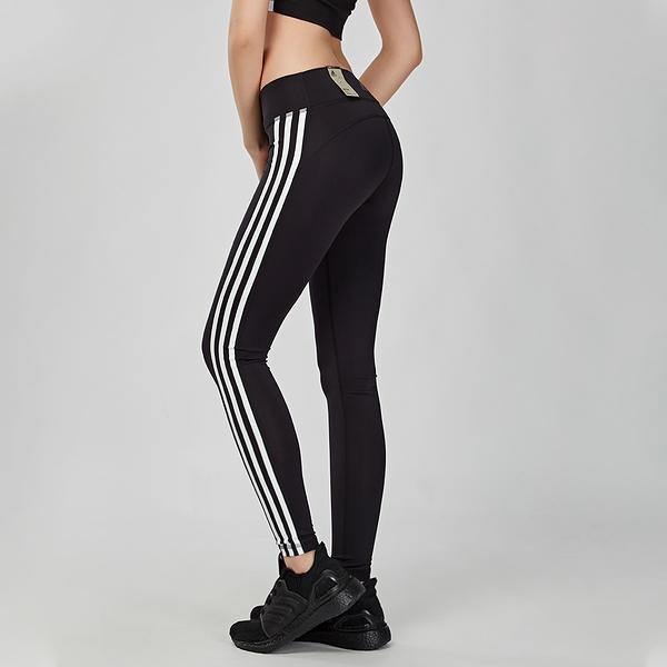 Adidas Trainng believe 女款 黑白 訓練 透氣 舒適 緊身長褲 CW0494
