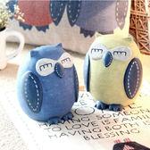 存錢罐貓頭鷹兒童儲蓄罐儲錢罐創意可愛雜貨復古大號結婚生日禮物
