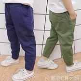 男童褲子 兒童褲子春男3-5歲男童寬鬆防蚊褲寶寶夏季薄款小童裝休閒長褲 快速出貨