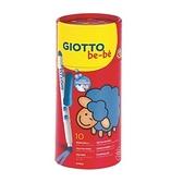 GIOTTO BEBE 可洗式寶寶彩色筆10色(筆筒裝)