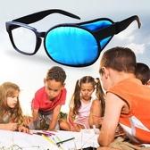 貝貝居 眼罩 鏡罩 獨眼罩 全遮蓋 弱視 真絲單眼罩
