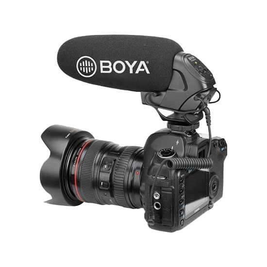 【EC數位】BOYA BY-BM3031 專業級 相機 機頂 麥克風 錄音 輕巧 超心型 電容式 槍型