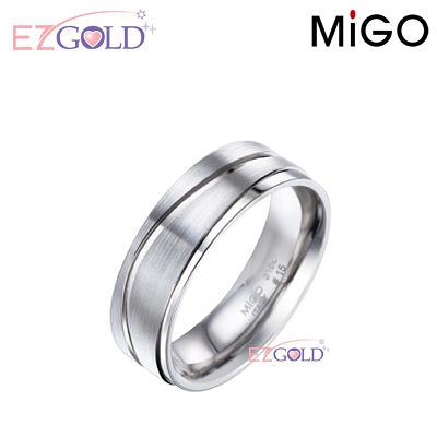 MiGO鋼飾♥天籟♥鋼飾戒指(男)