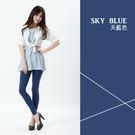 超彈性S-5XL舒適貼身內搭褲-牛仔灰藍