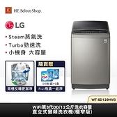 【豪禮加碼送】LG樂金 12公斤 直立式 變頻洗衣機(極窄版) WT-SD129HVG Steam™蒸氣洗