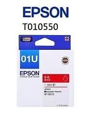 EPSON T01U550/NO.01U 紅色 原廠墨水匣 適用 EPSON Newton  XP-15010 Dye