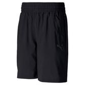 PUMA 訓練系列 黑色男款8吋短風褲-NO.51940301
