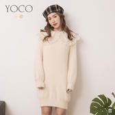 東京著衣【YOCO】寵愛自己粉嫩系圓領長版上衣/洋裝(191787)