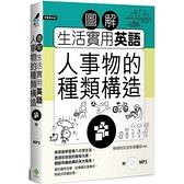 圖解生活實用英語(人事物的種類構造)(附1MP3)