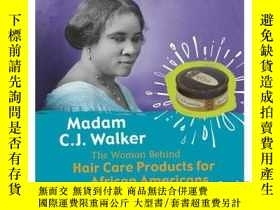 二手書博民逛書店Madam罕見C.J. Walker: The Woman Be