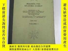 二手書博民逛書店peaceful罕見uses of the atomic ene
