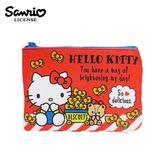 【日本正版】凱蒂貓 零錢面紙包 零錢包 卡片包 收納包 Hello Kitty 三麗鷗 Sanrio - 468460