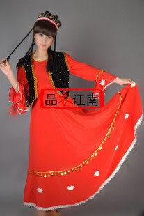 少數民族服裝 新疆維吾爾族  吐魯番姑娘 MZ024