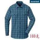 Mont-bell 日本品牌 UV 排汗薄襯衫 (1114277 BLSA藍格) 女