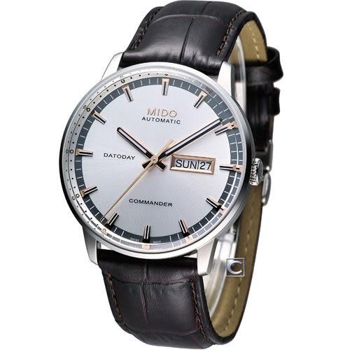 美度錶 MIDO Commander II 香榭系列機械腕錶 M0164301603112