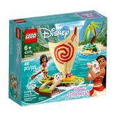 43170【LEGO 樂高積木】迪士尼公主 Disney Princess- 莫娜的海洋歷險 (46pcs)