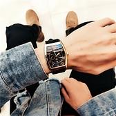 男士手錶酒桶型手錶男中學生韓版日歷防水方形商務男士時尚網紅石英錶【母親節禮物】