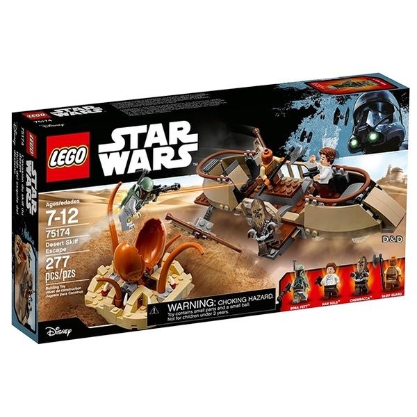 樂高積木LEGO《 LT75174》STAR WARS™ 星際大戰系列 - Desert Skiff Escape