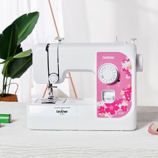 縫紉機日本兄弟縫紉機JA001兄弟牌家用電動臺式多功能帶鎖邊 小型吃厚 LX【全網最低價】
