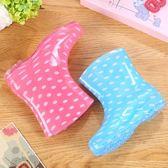 618好康鉅惠雨鞋女成人韓國短筒水靴廚房可愛防滑防水鞋