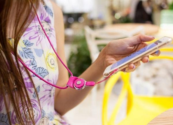 多功能手機掛繩 可拆式手機吊繩 指環手機鏈 頸掛繩 證件帶 識別證【Mr.1688先生】