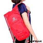 美國 AIRWALK-熱情仲夏休閒後背包-紅色