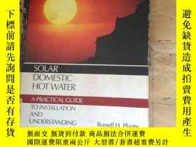 二手書博民逛書店Solar罕見domestic hot water: A pra