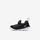 NIKE NIKE DYNAMO FREE TD [343938-013] 小童鞋 慢跑 運動 休閒 舒適 透氣 黑 白