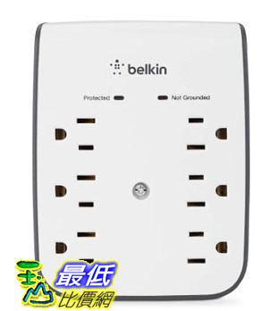 Belkin SurgePlus 6-Outlet Wall Mount Surge Protector with Dual USB Ports (2.1 AMP / 10 Watt) 电涌保护器