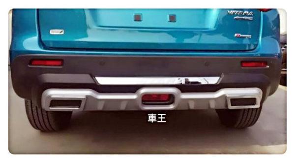 【車王小舖】鈴木 SUZUKI ALL NEW VITARA 後保桿 保護桿 防撞桿 運動款 競技版