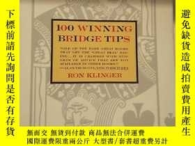二手書博民逛書店1OO罕見WINNING BRIDGE TIPSY9354 RO