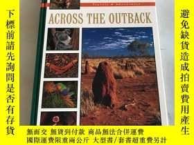 二手書博民逛書店across罕見the outbackY20850 australian broadcasting commi