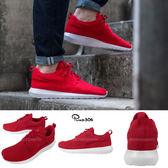 【六折特賣】Nike 休閒慢跑鞋 Roshe Run NM Flyknit 紅 白 編織 休閒鞋 運動鞋 男鞋【PUMP306】677243-603