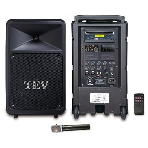 TEV 藍芽/CD/USB/SD單頻無線擴音機 TA780B-1
