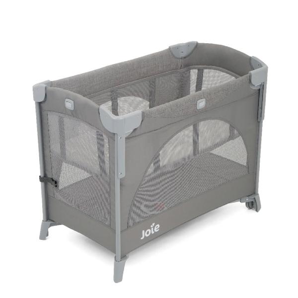 【贈動物手搖鈴】奇哥 joie Kubbie sleep 多功能床邊嬰兒床|遊戲床(附防護罩)