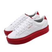 adidas 休閒鞋 Sleek Super W 白 紅 女鞋 運動鞋 聯名 Fiorucci 【ACS】 EE4719