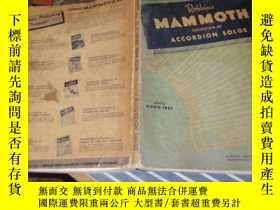二手書博民逛書店民國英文原版音樂書:rollins罕見mammoth… L7Y9
